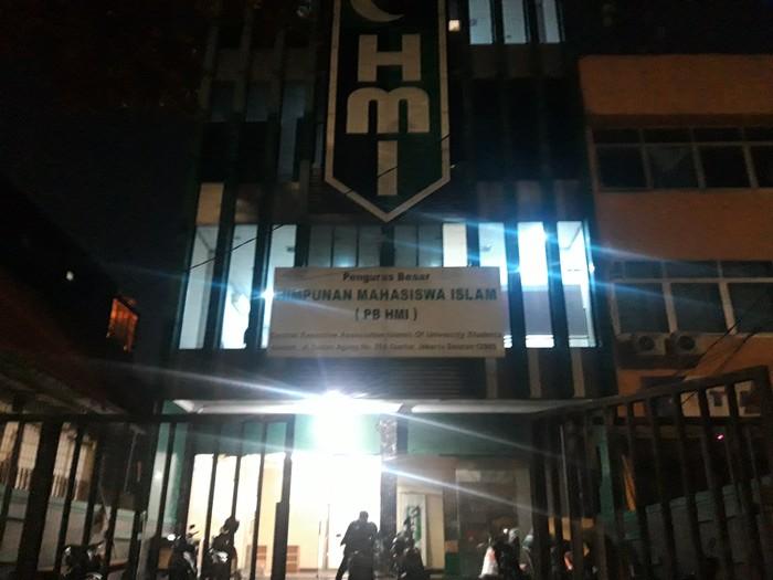 Suasana Kantor PB HMI (Rakha Arlyanto-detikcom)