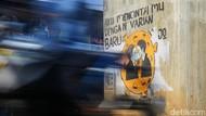 Waspada Varian Baru Corona lewat Seni Mural