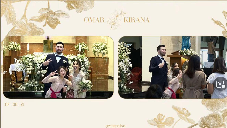 Dita Karang Hadiri Pernikahan Kakaknya