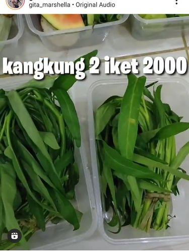 Hemat Banget! Wanita Ini Belanja Sayuran Rp 50 Ribu Untuk Seminggu
