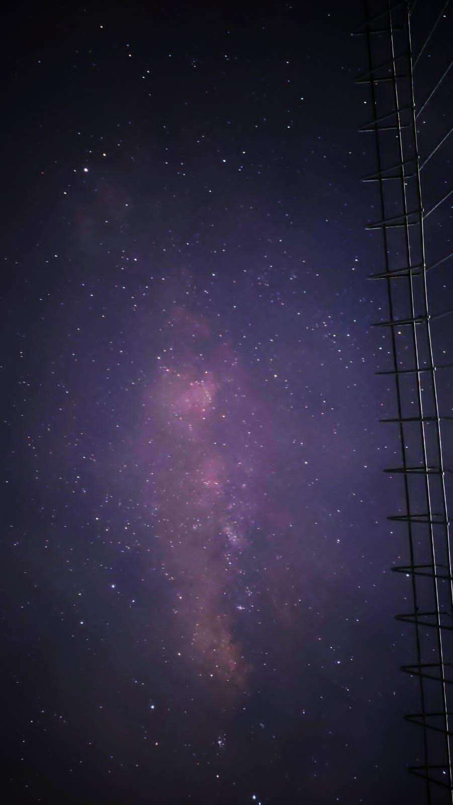 Potret Planet Saturnus, Jupiter dan Galaksi Bima Sakti yang berhasil ditangkap pada saat pengambilan data langit atau astrofotografi pada planet Jupiter, Saturnus dan galaksi Bima Sakti (Milky way) pada Peringatan Hari Antariksa Nasional di Gedung LAPAN Sumedang, Jumat (6/8/2021) malam.