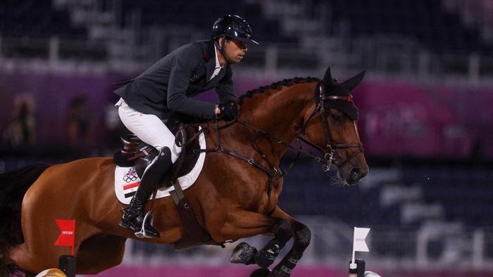 Nayel Nassar Calon Menantu Bill Gates di Olimpiade Tokyo 2020, di cabor lompat kuda mewakili Mesir.