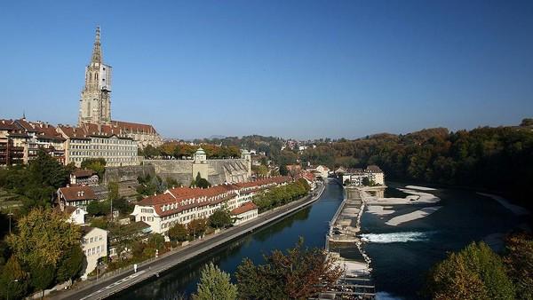 Berikutnya, Bern. Tidak banyak orang sadar bahwa Bern adalah ibu kota negara Swiss. Mike Hewitt/Getty Images