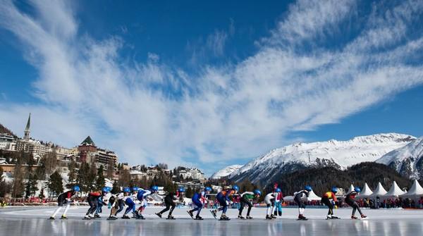 Corviglia merupakan nama area ski tepat di puncak Kota St. Moritz. Area ini adalah area ski terbesar di Engadin. Area kerap menjadi tempat penyelenggaraan Kejuaraan Dunia Ski. Matthias Hangst/Getty Images
