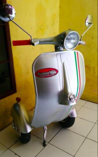 Segway Vespa Clasik made in Bandung