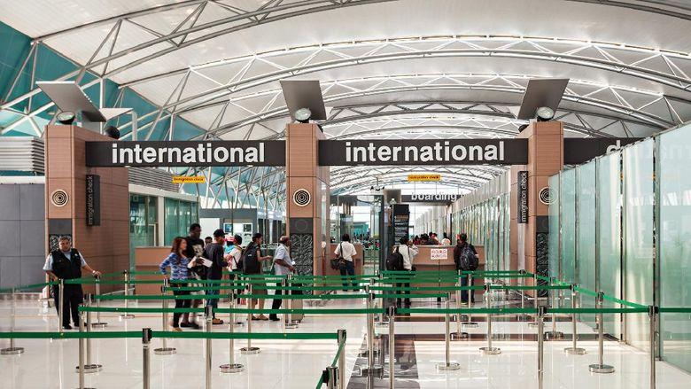 JAKARTA, INDONESIA - OCTOBER 28, 2014: Soekarno Hatta International Airport is the main airport serving the greater Jakarta area on the island