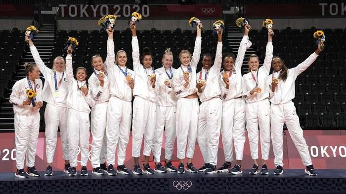 Olimpiade Tokyo 2020 akan segera ditutup. Berikut posisi teratas klasemen medali Olimpiade Tokyo 2020.