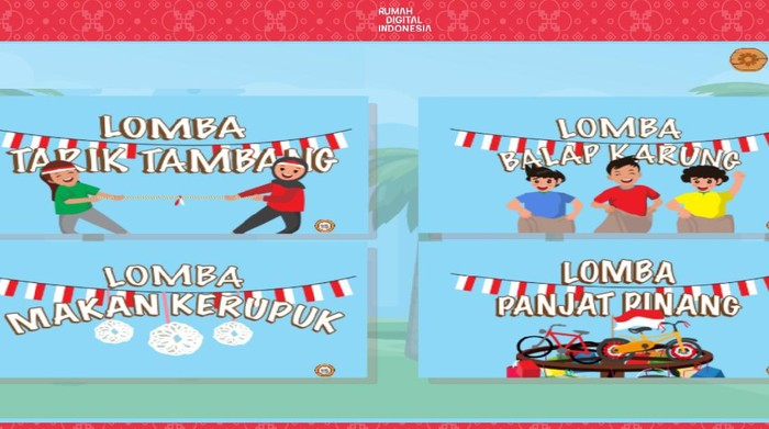 Lomba 17-an di Rumah Digital Indonesia