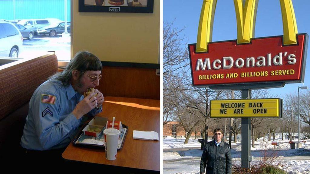 Melahap 32 Ribu Big Mac Selama 22 Tahun, Pria Ini Pecahkan Rekor Dunia