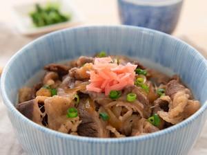 Resep Beef Bowl ala Yoshinoya yang Gurih Manis Bumbunya