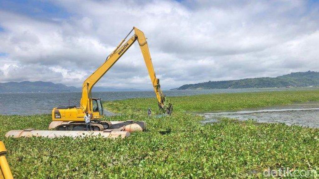 Danau Tondano Masuk 15 Danau Prioritas Penyelamatan: Dipenuhi Eceng Gondok