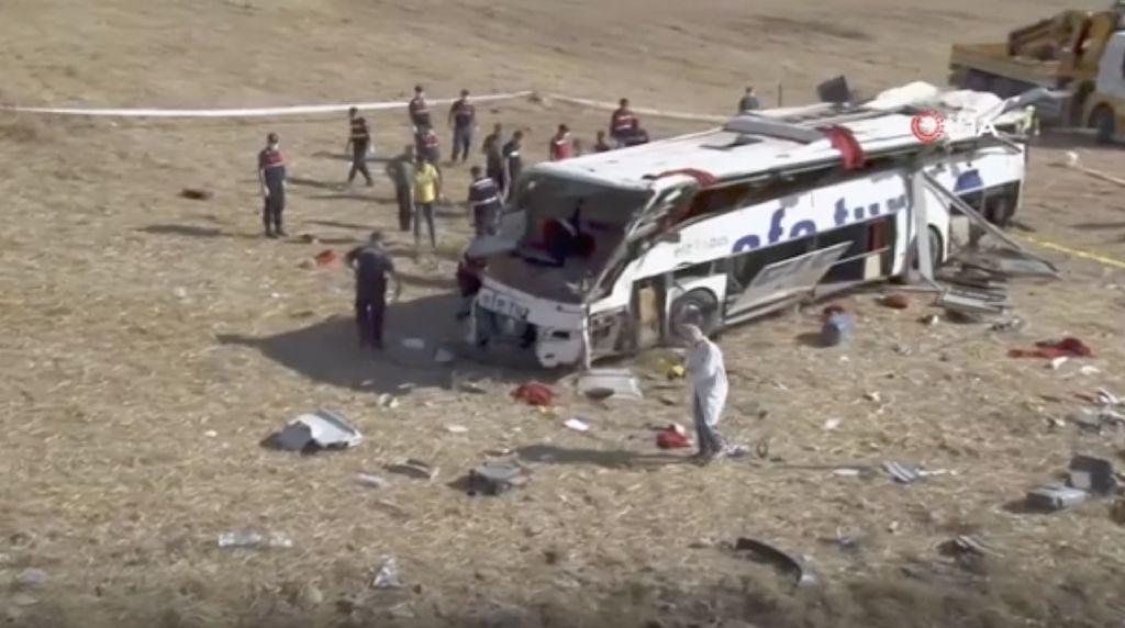 Kecelakaan Bus di Turki Tewaskan 15 Orang