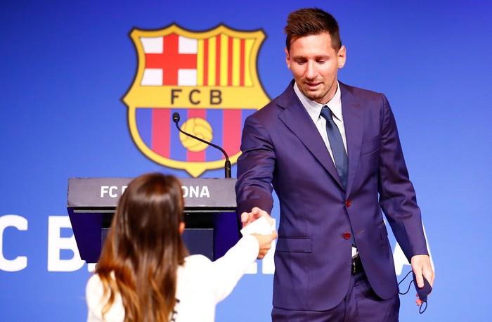 Lionel Messi Nangis
