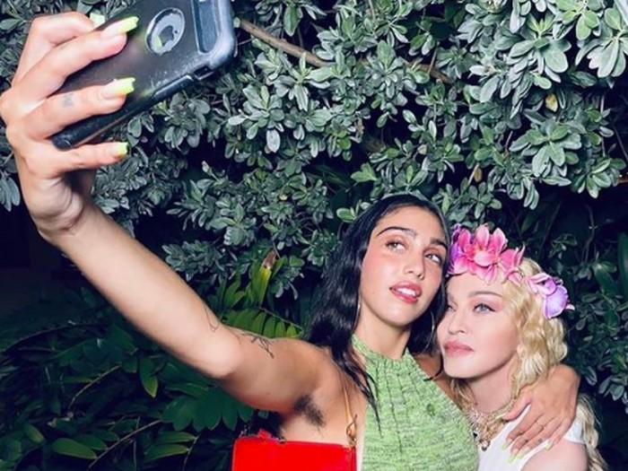 Madonna dan Lourdes Leon