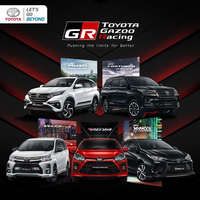 Mobil-mobil Toyota dengan Sentuhan Sporty ala Gazoo Racing