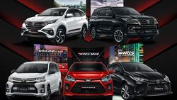 Toyota Agya, Yaris, Rush, Fortuner, dan Veloz GR Meluncur di Indonesia, Ini Harganya