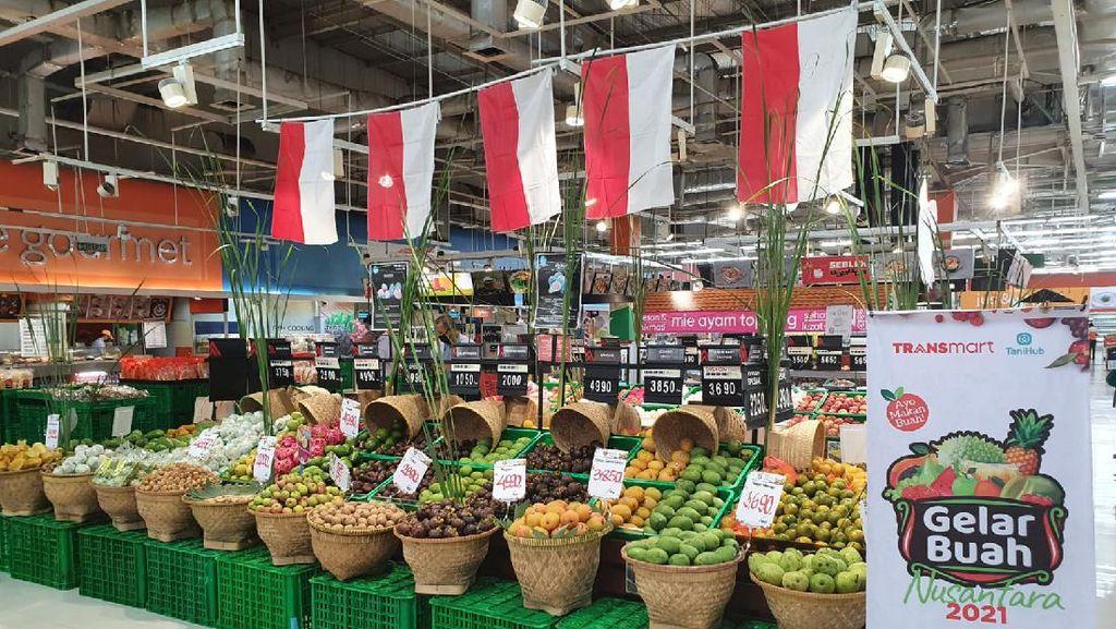 Gelar Buah Nusantara, Transmart Beri Promo Menarik Makan Buah Lokal