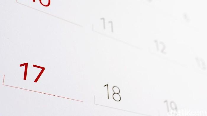 Kalender tahunan. dikhy sasrailustrasidetikfoto