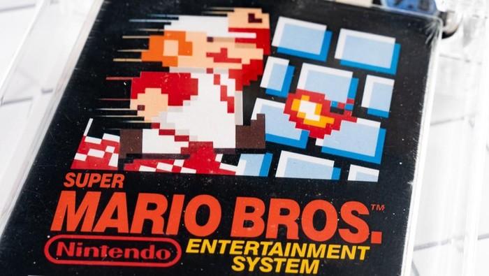 Super Mario Bros. pecahkan rekor game termahal di dunia