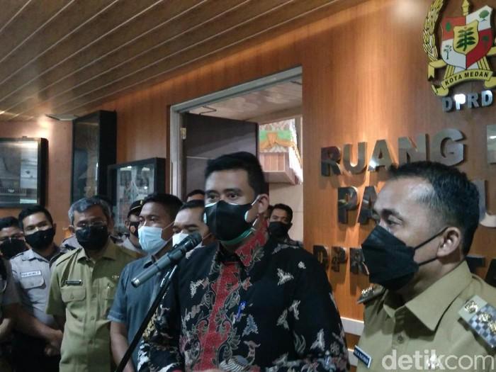 Wali Kota Medan, Bobby Nasution (Datuk Haris Molana/detikcom)