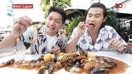 Bikin Laper! Ibnu Jamil dan Mike Ethan Mukbang Seafood Seember