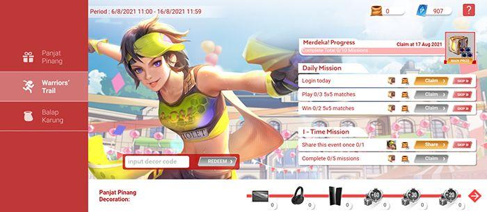 Dapatkan Macbook Air di Event Arena of Valor Karnaval Merdeka