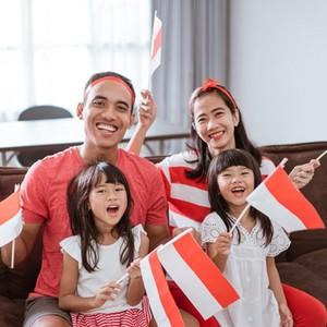 5 Cara Seru Rayakan Hari Kemerdekaan dari Rumah