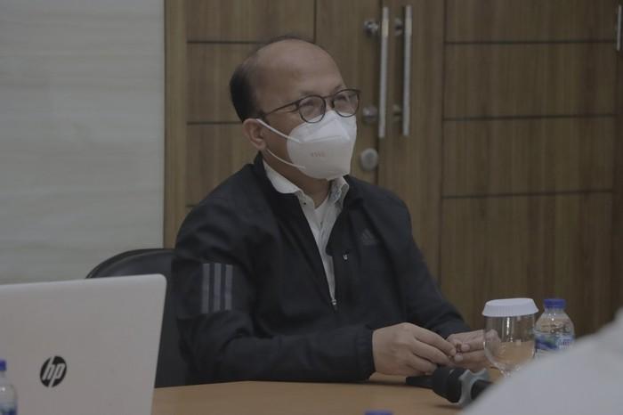 Sekretaris Jenderal Kementerian Ketenagakerjaan (Kemnaker) Anwar Sanusi