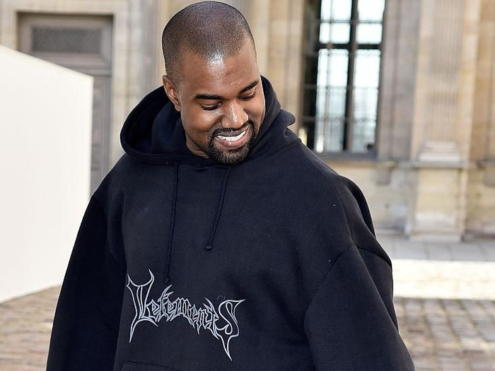PARIS, FRANCE - MARCH 06:  Kanye West attends the Christian Dior show as part of the Paris Fashion Week Womenswear Fall/Winter 2015/2016 on March 6, 2015 in Paris, France.  (Photo by Pascal Le Segretain/Getty Images)