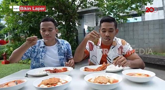Anwar BAB dan Diego Afisyah Cicip Tom Yum  Enak di Jakarta