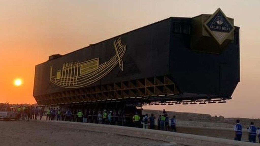 Firaun Punya Kapal Matahari, Kini Dipindahkan ke Museum Giza Mesir