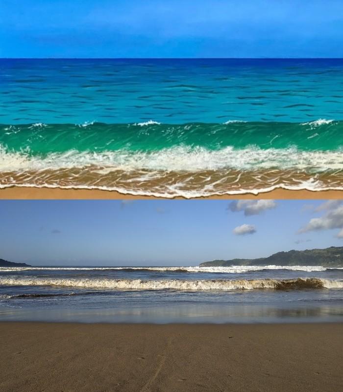 Indahnya Pantai Pacitan yang Jadi Tema Lukisan SBY