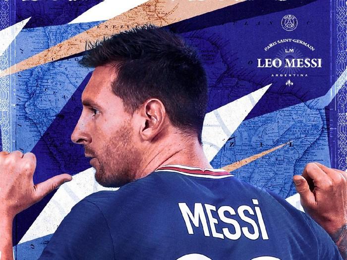 Lionel Messi resmi diperkenalkan sebagai pemain baru Paris Saint-Germain, Rabu 11 Agustus 2021. Dia mendapatkan nomor punggung 30 di Parc des Princes.