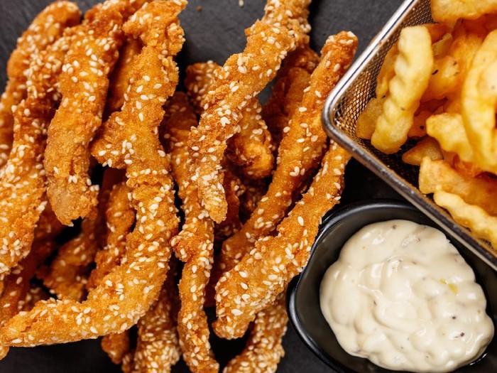 Resep Ayam Fillet Crispy Wijen