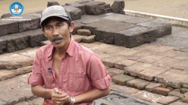 Sejarahwan dan Arkeolog, Dwi Cahyono (Foto: Tangkapan layar video di Rumah Digital Indonesia)