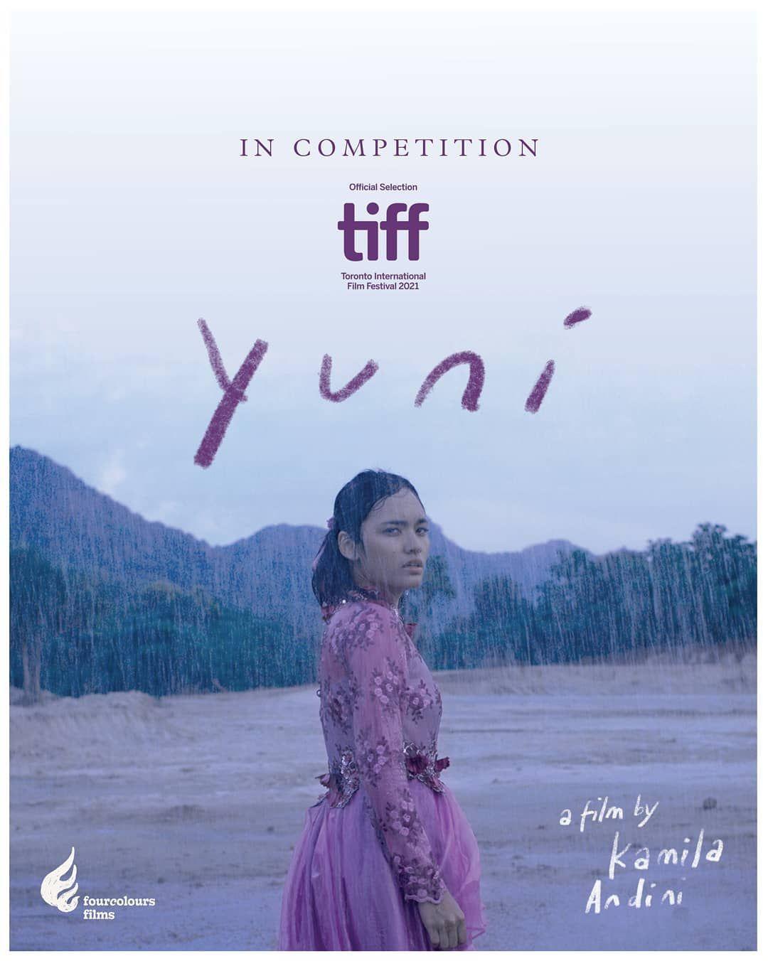 Film Yuni berlaga di TIFF 2021.