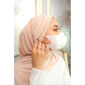5 Hijab Instan Kekinian Bikin Hijabers Gampang Pakai Masker Earloop