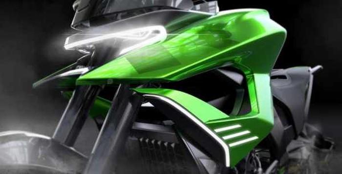 Kawasaki Dual Purpose di masa depan