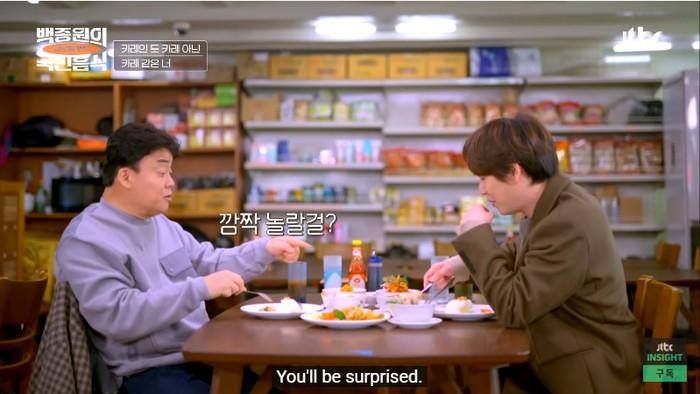 Kyuhyun Suju dan Chef Baek Jong Won Nikmati Tongseng Kambing dan Opor Ayam