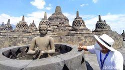 Candi Borobudur Uji Coba Buka, Nih