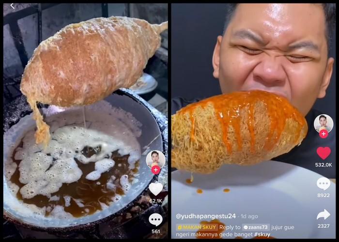 Netizen Pamer Jajan Telur Gulung Rp 50 Ribu, Videonya Ditonton 7 Juta Kali
