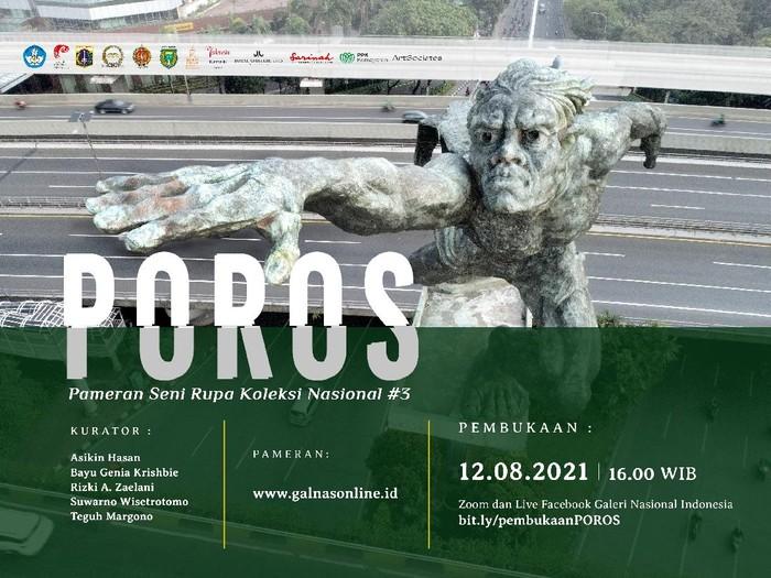 Pameran Seni Rupa Koleksi Nasional #3 POROS di Galeri Nasional Indonesia