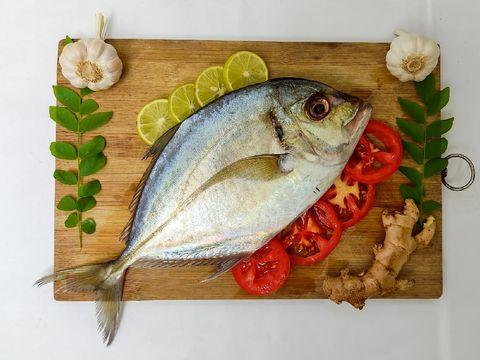 Resep Ikan Kuwe Asam Pedas