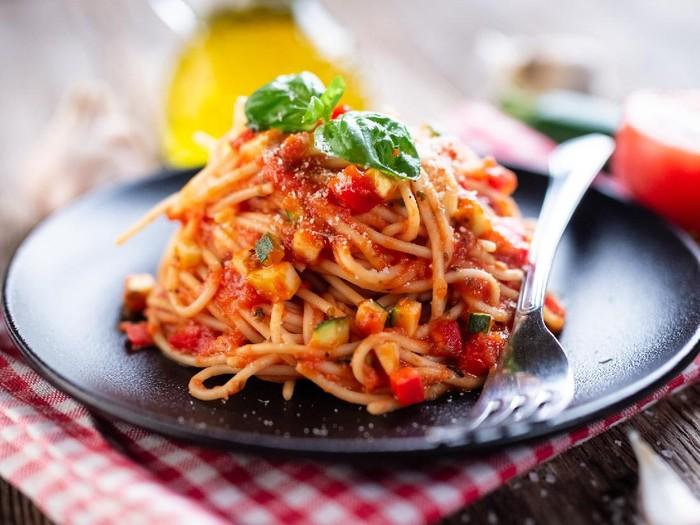 Resep Spaghetti Saus Terong