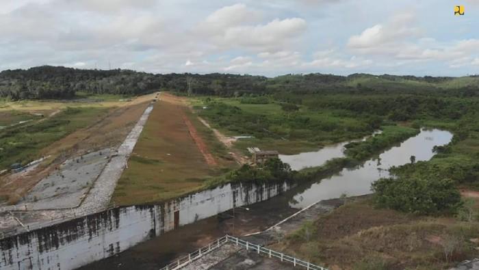 Kementerian PUPR telah merampungkan pembangunan Bendungan Marangkayu di Kalimantan Timur. Ini foto-foto terkininya!