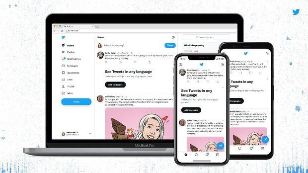 Twitter kenalkan desain web dan font baru