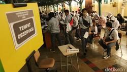 Vaksinasi COVID-19 bagi pelajar di Kota Bandung, Jabar, terus dikebut. Badan Intelijen Negara kembali menggelar vaksinasi COVID-19 lanjutan di SMAN 5 Bandung.
