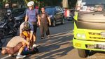 Gaya Virnie Ismail saat Ngebut dengan Road Bike