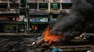 Foto: Ancaman Perang Saudara di Myanmar