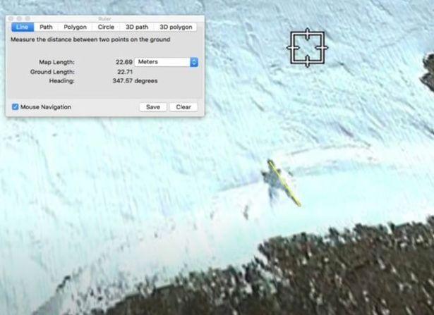 Jejak alien di Antartika